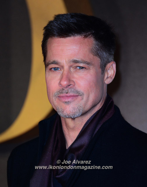 Brad Pitt Allied Film Premiere © Joe Alvarez 36612