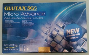 Glutax 5GS is dangerous fake