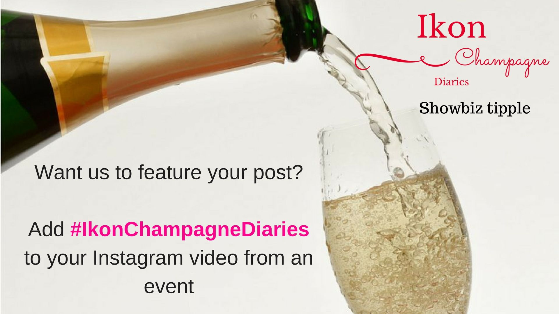 Gourmet Foodie: Ikon Champagne Diaries