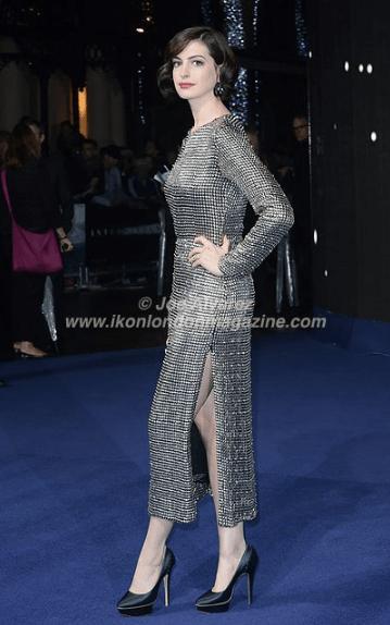 Anne Hathaway at the World Premiere of Interstellar © Joe Alvarez