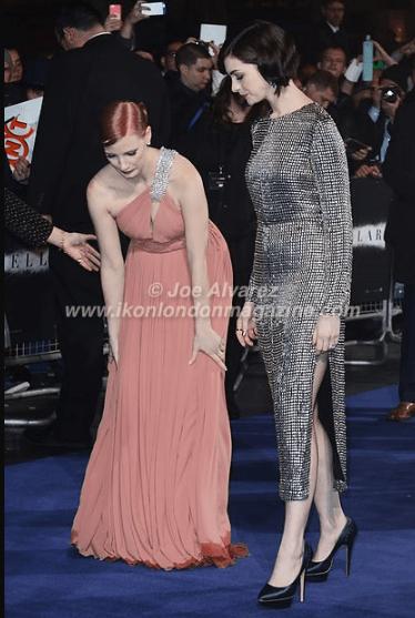 Jessica Chastain and Anne Hathaway at the World Premiere of Interstellar © Joe Alvarez