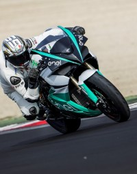 2019 MotoE Energica Ego racing bike