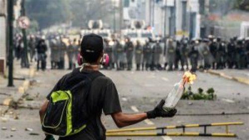 Venezuelan Anti-Maduro protester