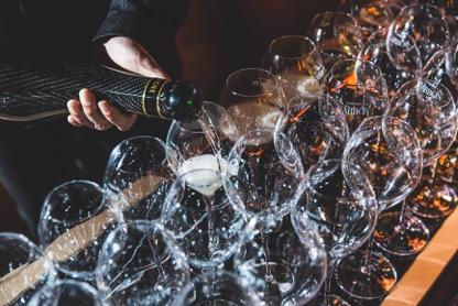 Chardonnay, Pinot Noir, Pinot Meunier Vintage Brut Carbon Champagne Launch UK