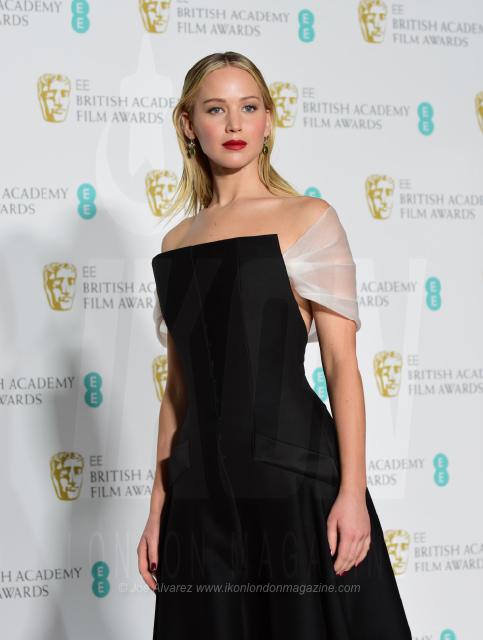Jennifer Lawrence EE BAFTAS 2018 © Joe Alvarez 14437