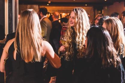 Tamara Orlova-Alvarez and Guests Carbon Champagne Launch UK
