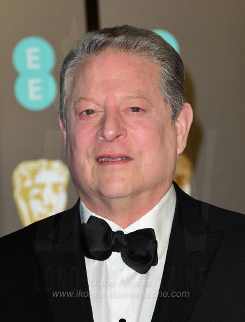 Al Gore EE BAFTAS 2018 © Joe Alvarez