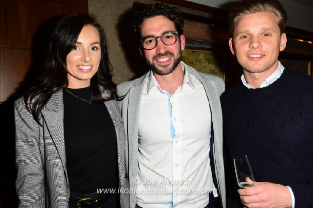 Kate Dwyer, Alex Di Pasquale, Jeff Brazier Anna Williamson book launch © Joe Alvarez
