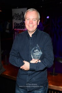Steve Pemberton won award for Best TV Comedy Inside Number 9 Chortle Awards 2018 Comedy © Joe Alvarez 15138