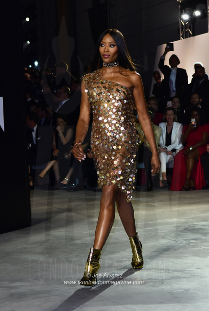 Naomi Campbell Fashion for Relief Cannes 2018. © JOE ALVAREZ