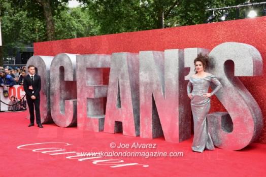 Oceans's 8 European premiere 2018. Copyright JOE ALVAREZ