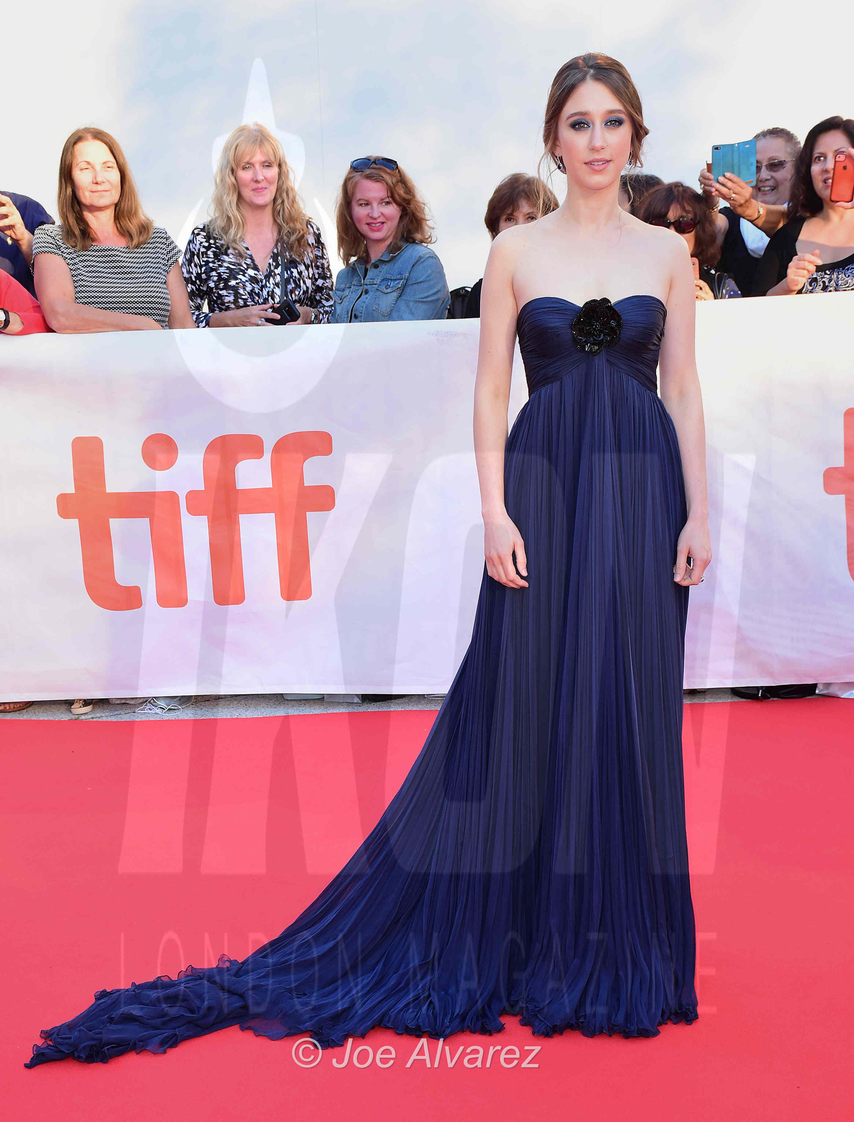 Taissa Farmiga, Elizabeth Chomko What We Had premiere Toronto Film Festival © Joe Alvarez