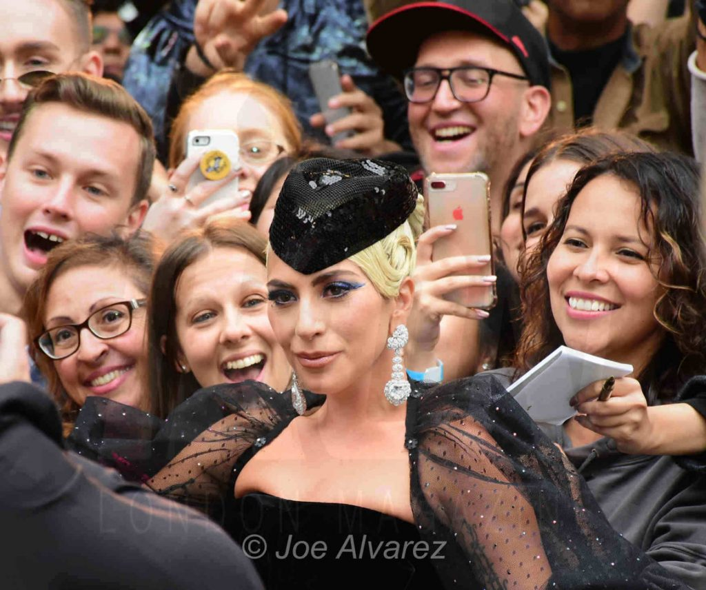 Lady Gaga at the premiere of A Star is Born TIFF