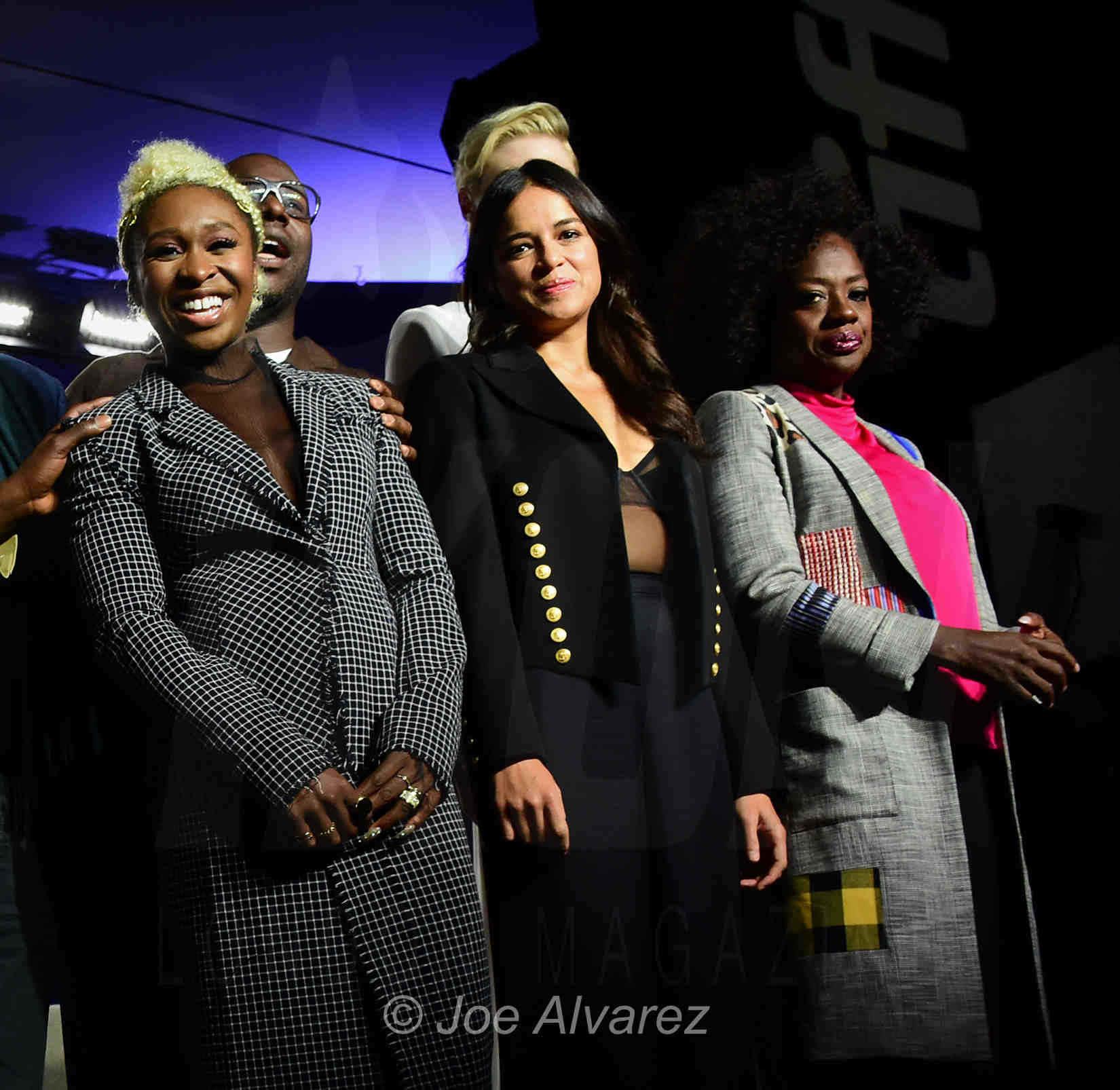 Cynthia Erivo, Michelle Rodriguez, Viola Davis © Joe Alvarez