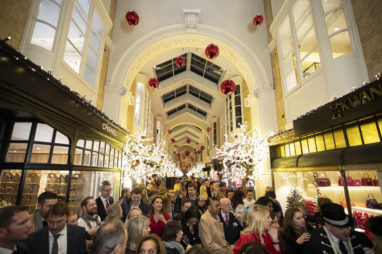 Burlington Arcade Christmas Lights