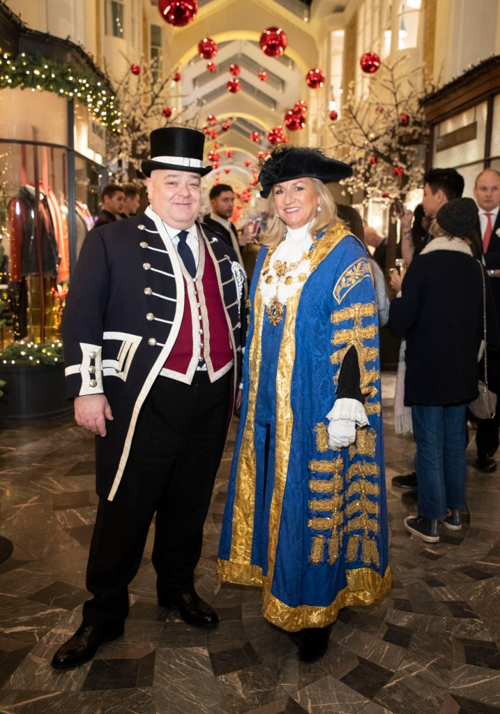 """LONDON, ENGLAND - NOVEMBER 14: The Right Worshipful Lord Mayor of Westminster Councillor Lindsey Hall attends the """"A Burlington Christmas"""" at Burlington Arcade on November 14, 2018 in London, England. (Photo by Mike Marsland/Mike Marsland/Getty Images for Burlington Arcade) *** Local Caption *** Lindsey Hall"""