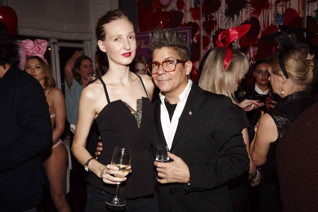 Tamara Orlova-Alvarez, Joe Alvarez Coco De Mer SS19 Playboy Party
