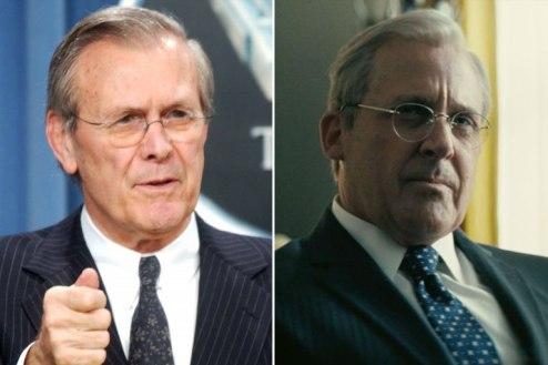 Steve Carell David Rumsfeld