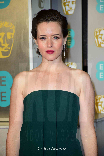 Claire Foy (Nominated for Leading Actress) EE British Academy Film Awards 2019 © Joe Alvarez