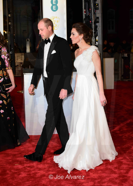 Duke and Duchess of Cambridge EE British Academy Film Awards 2019 © Joe Alvarez