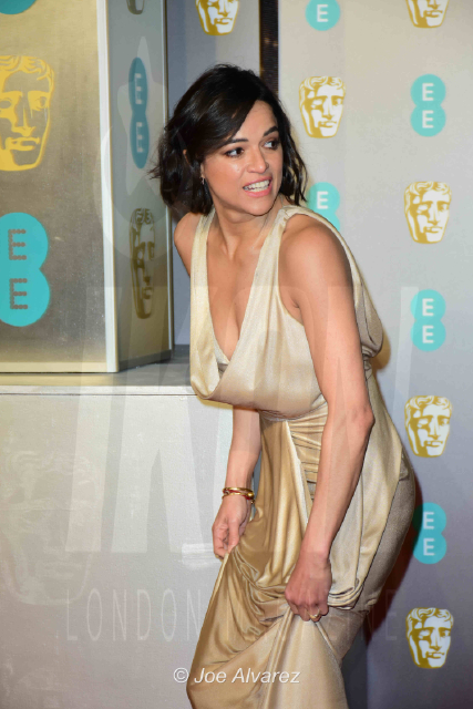 Michelle Rodriguez EE British Academy Film Awards 2019 © Joe Alvarez
