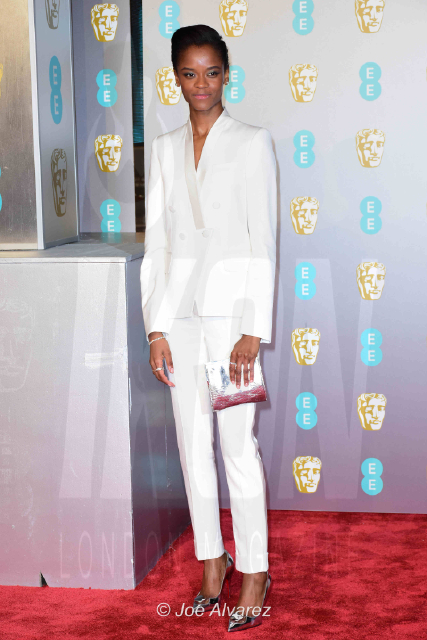 Letitia Wright EE British Academy Film Awards 2019 © Joe Alvarez
