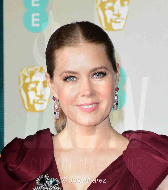 Amy Adams EE British Academy Film Awards 2019 © Joe Alvarez BAFTA 2019