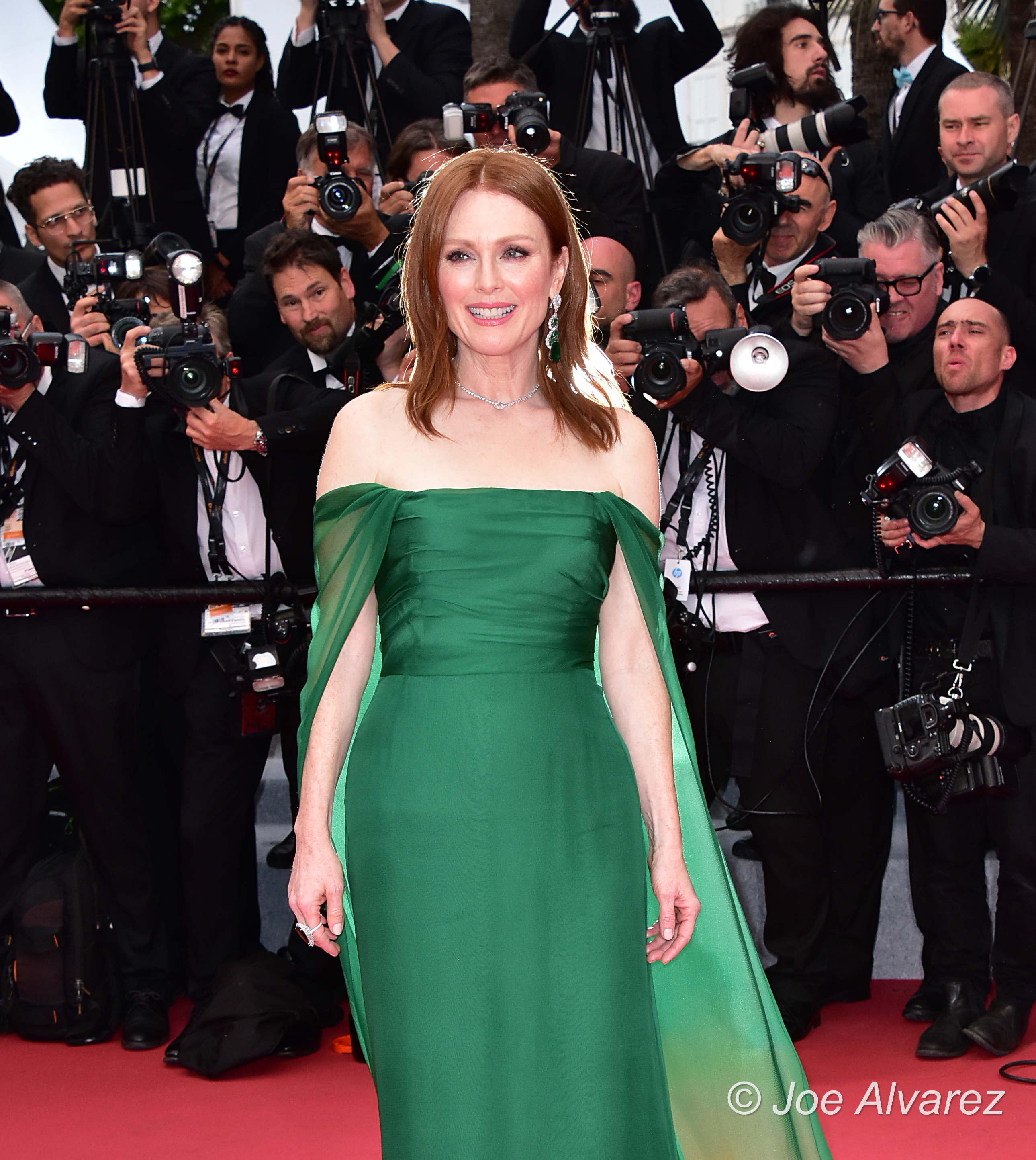 Julianne Moore 72 Cannes Film Festival attending the opening night premiere The Dead Don't Die © Joe Alvarez