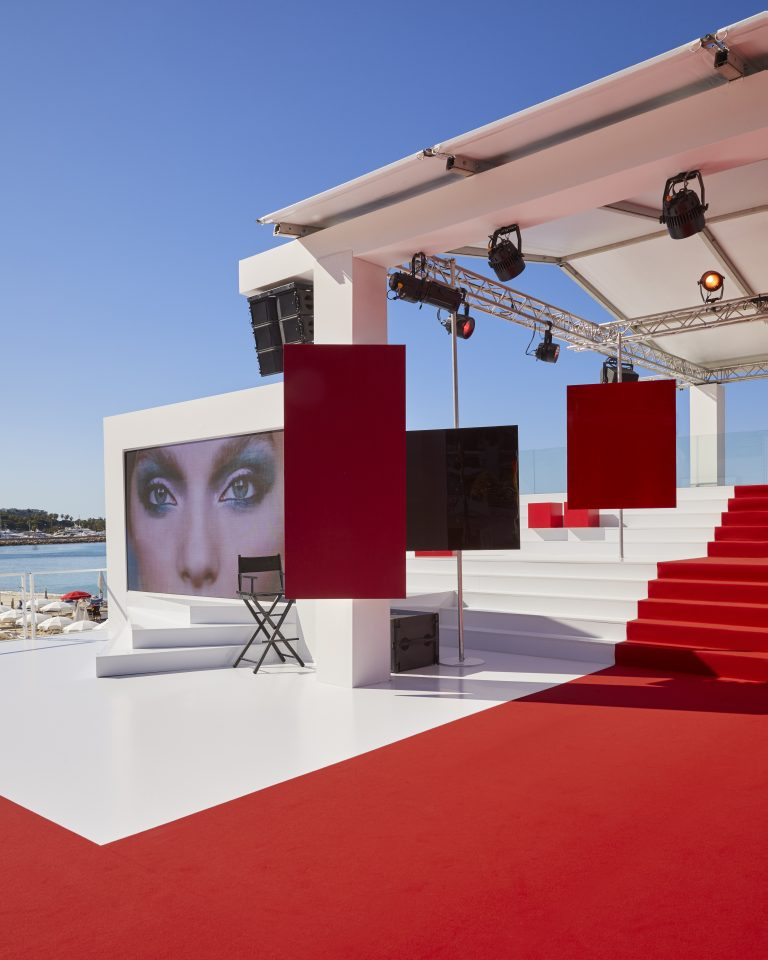 L'Oreal Beauty 'headquarters' at the 72 Cannes Film Festival