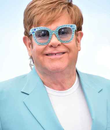 Elton John Cannes Film Festival Rocketman photo call © Joe Alvarez
