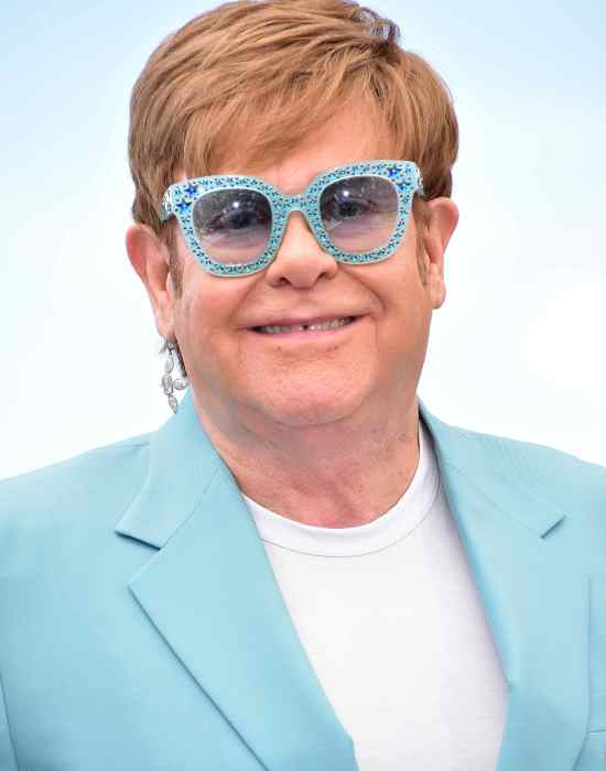 Elton John Cannes Film Festival Rocketman photo call © Joe Alvarez