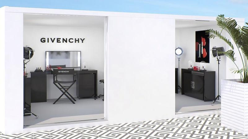 Givenchy Beauty Suite at the Albane Terrace of JW Marriott, 72 Cannes Film Festival