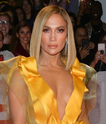 """TORONTO, ONTARIO - SEPTEMBER 07: Jennifer Lopez attends the """"Hustlers"""" premiere during the 2019 Toronto International Film Festival at Roy Thomson Hall on September 07, 2019 in Toronto, Canada. (Photo by George Pimentel/Getty Images for TIFF)"""