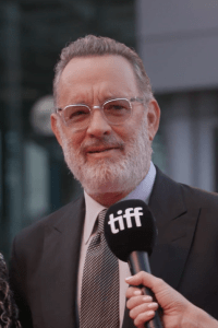 Tom Hanks at A Beautiful Day in Neighbourhood world premiere Photo courtesy of TIFF
