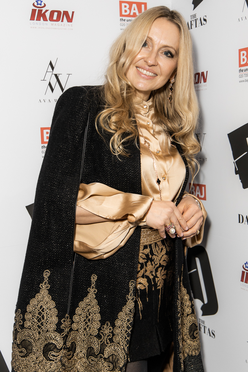 The DAFTAS Judge for the best costume Olga Roh