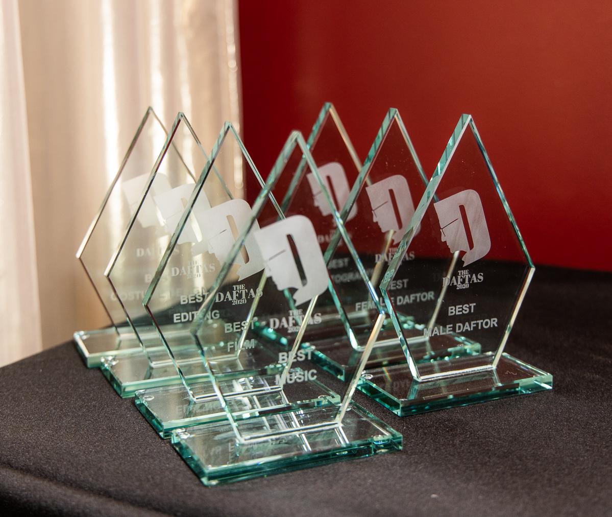 The DAFTAS 2020 trophies