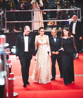 Duke and Duchess of Cambridge. Photo courtesy of BAFTA