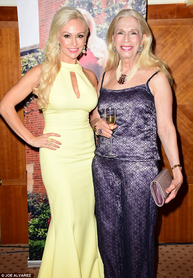 Kristina RIhanoff and Lady Colin Campbell © JOE ALVAREZ
