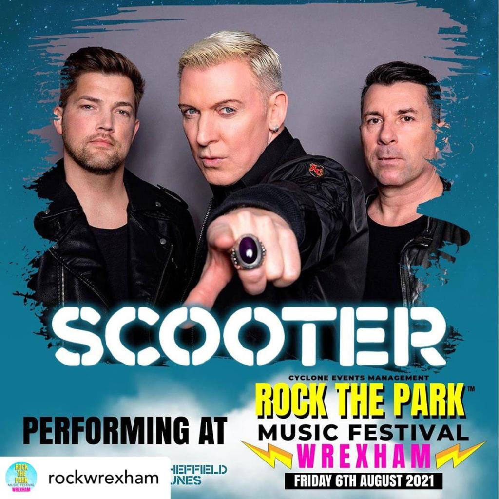 Rock The Park: Ryan Swain is keen to join Scooter this summer