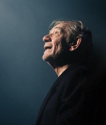 Sir Ian McKellen Charity Work Donation