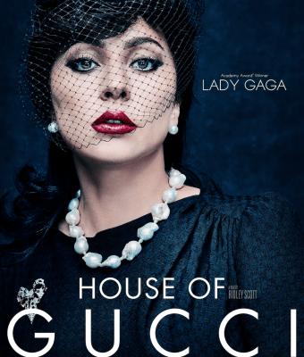 Lady Gaga playing Patrizia Reggiani