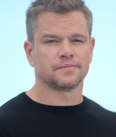 Matt Damon at the photo call of Stillwater © Rune Hellestad