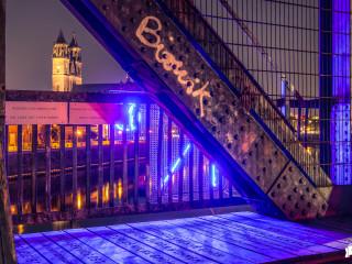 Durchblick / Hubbrücke Magdeburg