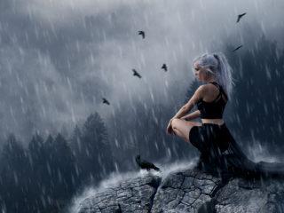 rain_girl_composing_ikopix