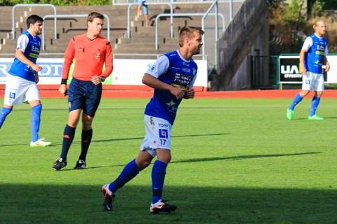 Rickard Johansson i match mot Landskrona. FOTO: Susann Sannefjäll