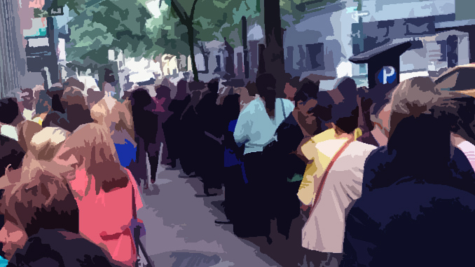 The Business of Waiting in Lines