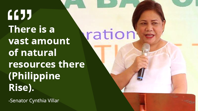 We Need to Protect Philippine Rise – VILLAR