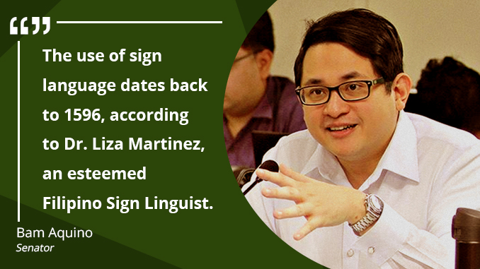 National Language for Deaf Filipinos – AQUINO