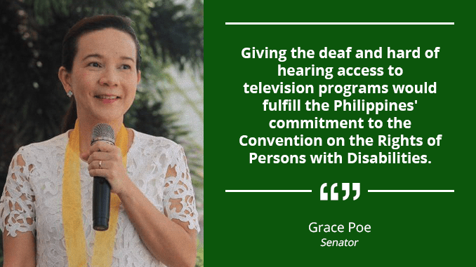 TV Stations to Use Subtitles for the Benefit of the Deaf – POE