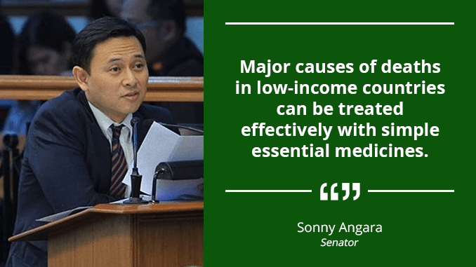 Expand Free Medicines Program for Poor in Far-Flung Areas – ANGARA